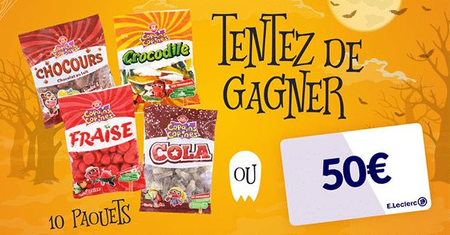 concours paquet bonbons