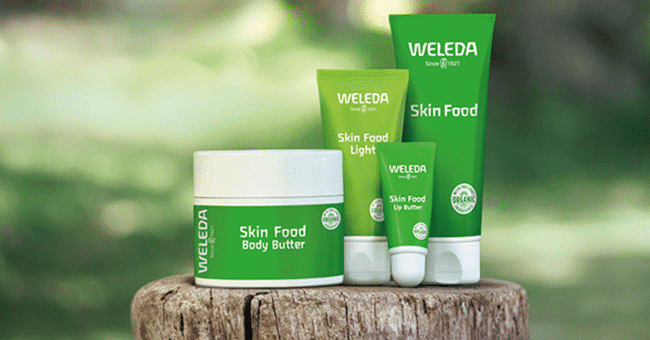 concours skin food weleda