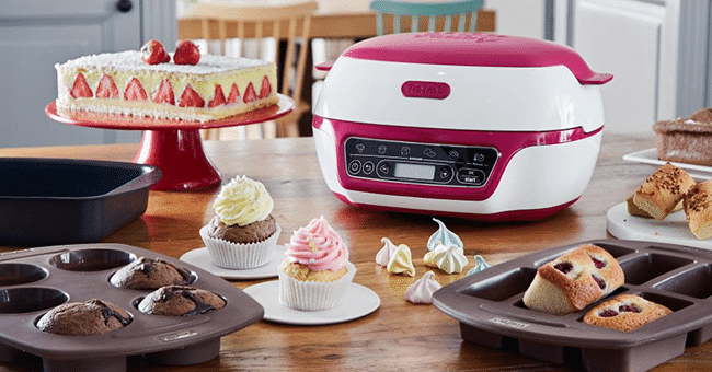 Tentez de gagner 1 appareil Cake Factory+ de Tefal • Mes