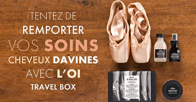 soin davines concours