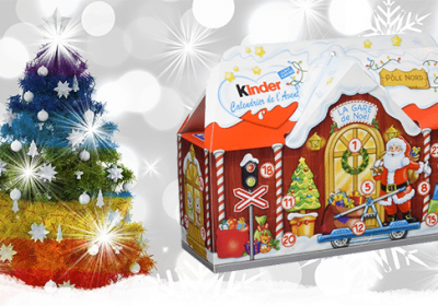 kinder calendrier avent concours