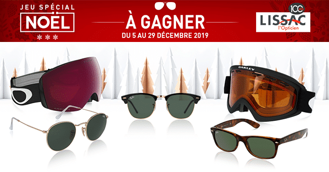concours lunettes rayban