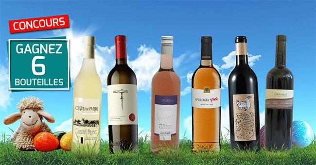 concours coffret vin