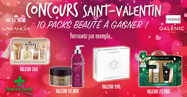 concours pack beaute