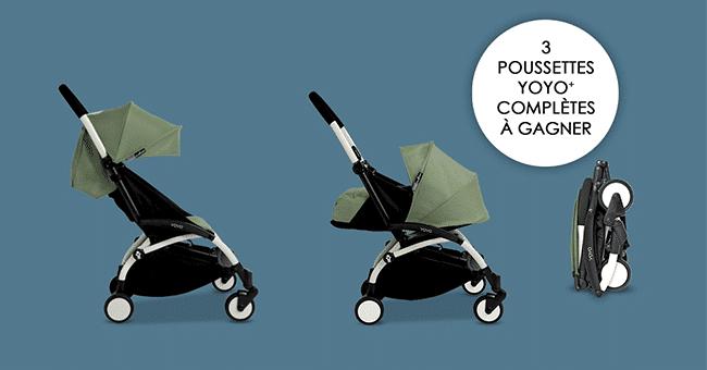 concours poussette Babyzen