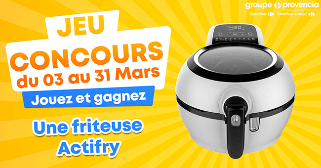 concours friteuse actifry
