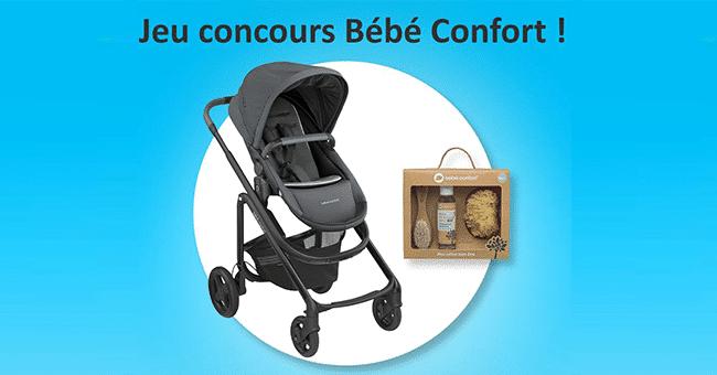 concours poussette bebe