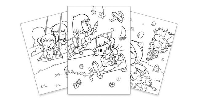 livre coloriage gratuit