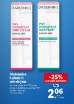 Promo de 0.69 € sur Hydratant soin du jour Diadermine