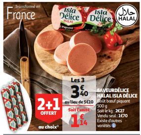 Promo de 170 € sur Saveur Delice Halal Isla Delice 1