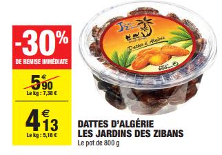 Promo de 177 € sur Dattes d Algerie Les Jardins de Zibans 1