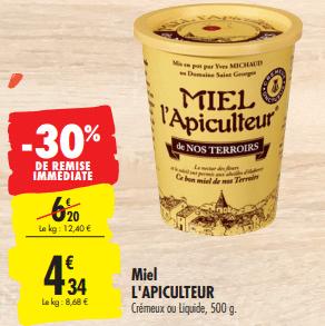Promo de 188 € sur Miel L Apiculture 1