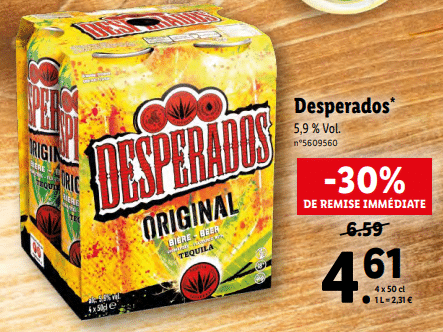 Promo de 198 € sur Desperados 1