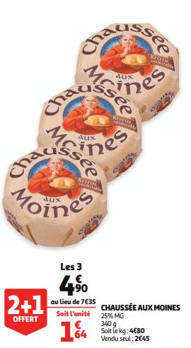 Promo de 245 € sur Chausse aux moines 340 g 1