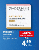 Promo de 3.06 € sur Diadermine Anti Rides soin de jour