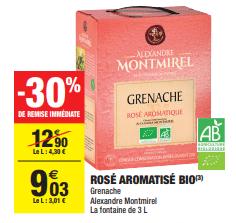 Promo de 387 € sur Rose Aromatise Bio 1
