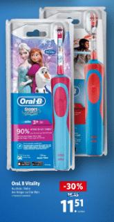 Promo de 4.49 € sur Oral B Vitality enfant