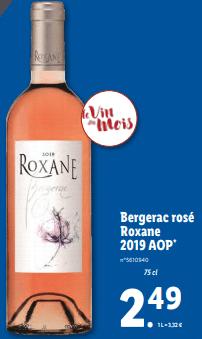 Promo sur Bergerac Rose Roxane 1