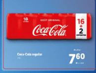 Promo sur Pack 18 33 cl Coca Cola regular
