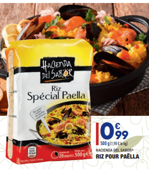 Promo sur Riz pour paella de Hacienda del sabor 1