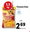 Promo sur Sachet de Pommes Frites Harvest Basket de 3.5 kg
