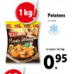 Promo sur Sachet de Potato Wedges Harvest Basket 1 kg