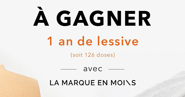 concours 1 an lessive