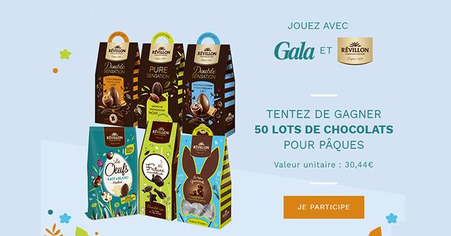 concours chocolats revillon