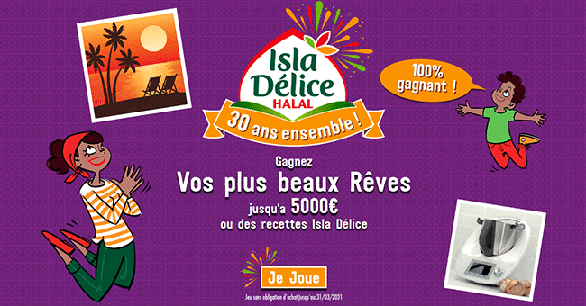 concours isladelice