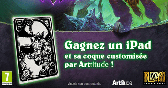 concours tablette ipad