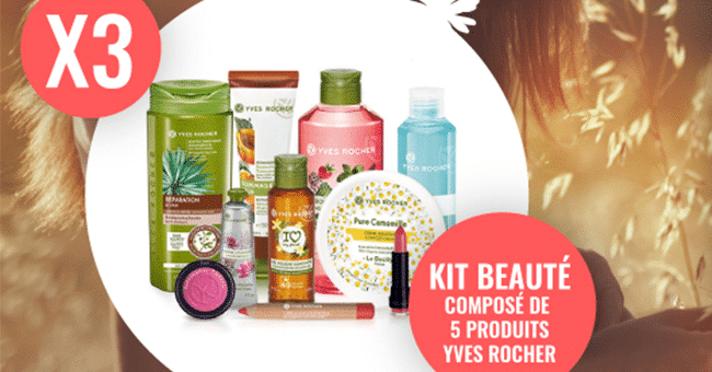 kit yves rocher concours