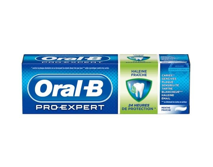 reduction Oral B Pro