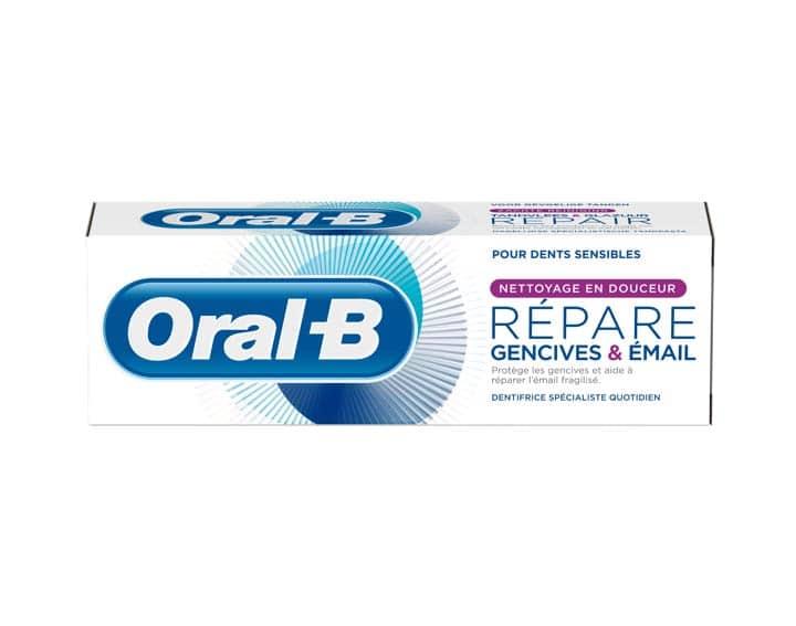 reduction oral b gencive