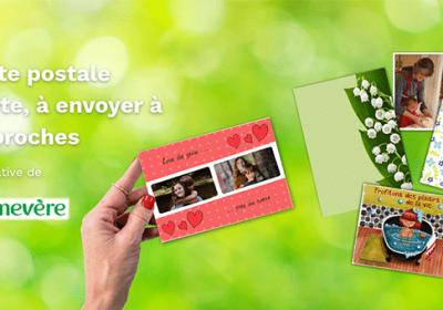 Carte postale gratuite à envoyer à vos proches • Mes échantillons Gratuits