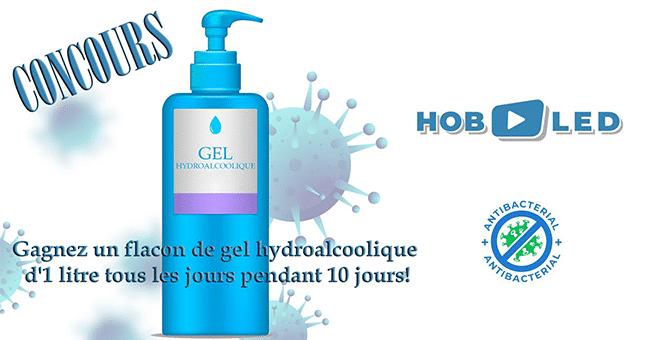 concours gel hydroalcolique