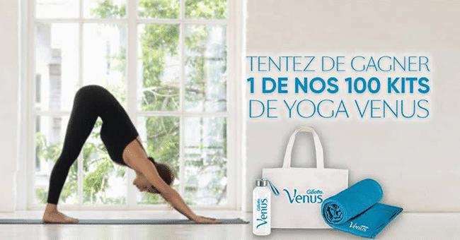 concours kit yoga