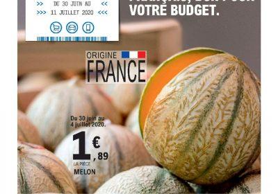 Catalogue Leclerc Bon pour les producteurs francais bon pour votre budget