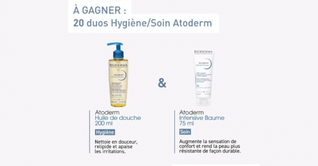 concours bioderma 3