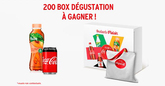 box degustation concours