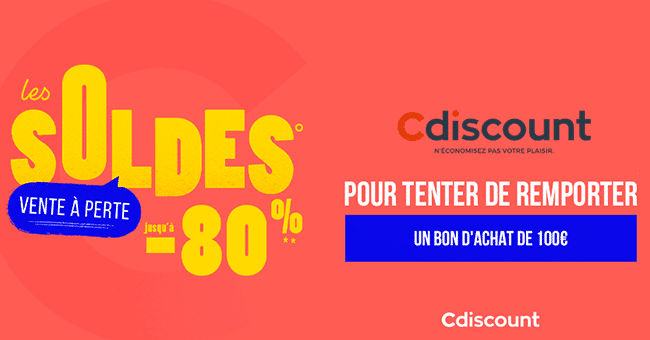 concours cdiscount 2