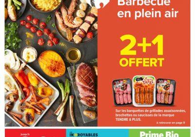 Catalogue Carrefour Vive l ete barbecue en plein air