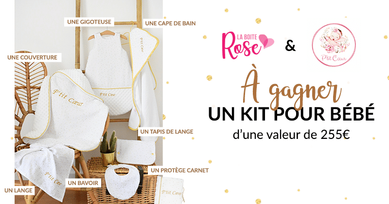 kit boite rose concours