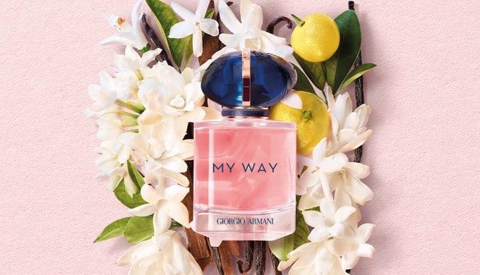 my way armani echantillon parfum