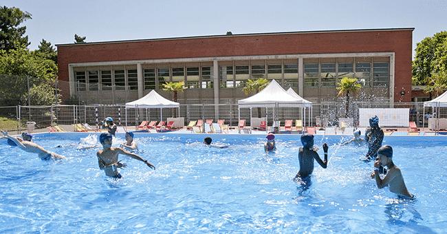 piscine gratuite