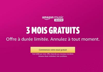 3 mois dabonnement gratuits sur amazon music unlimited