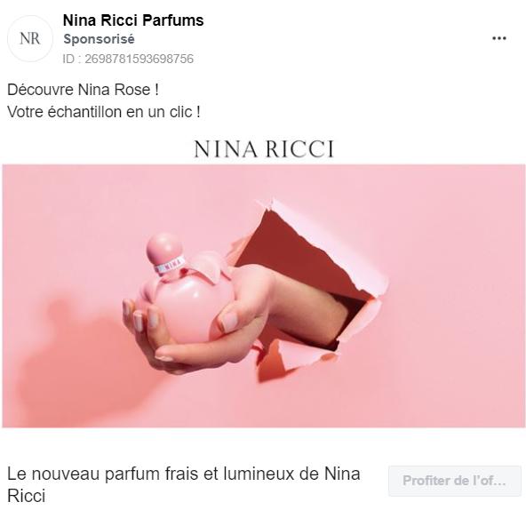 parfum nina ricci gratuit