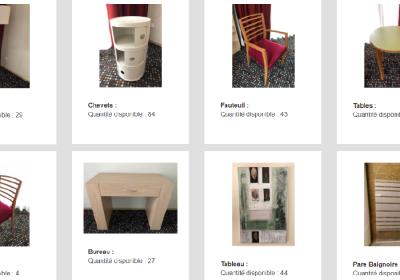 meubles objets deco