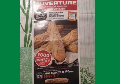 mini baguette offerte