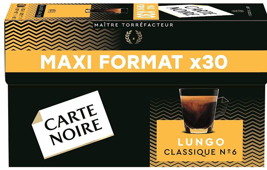 Café Lungo Classique N°6 Carte Noire