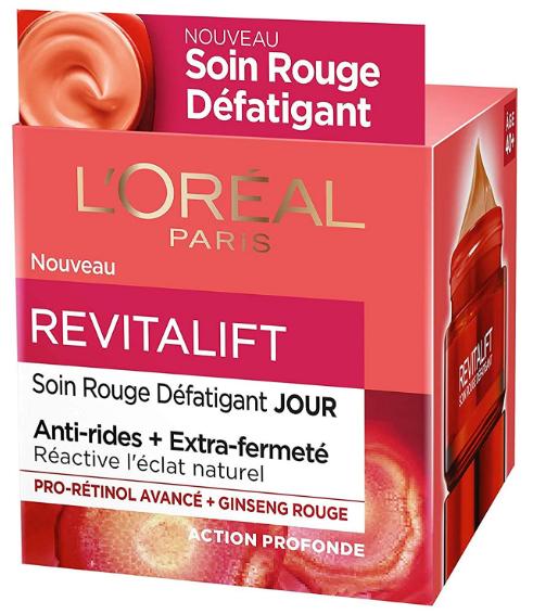 Soin Rouge Défatigant L'Oréal Paris - Revitalift
